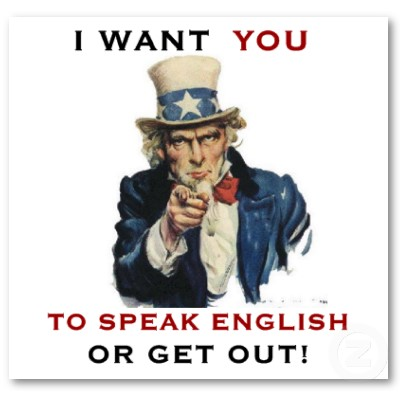 speak English language 
