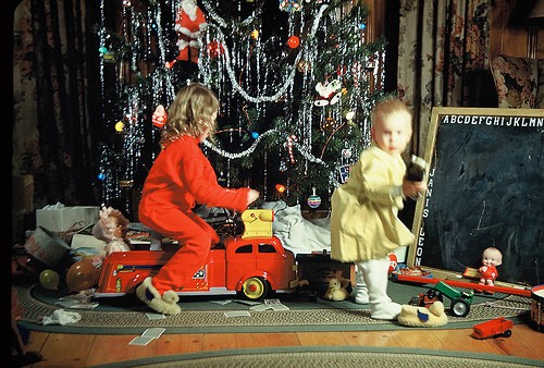 Christmas in the 1950's