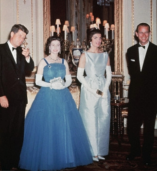 Queen with Kennedy