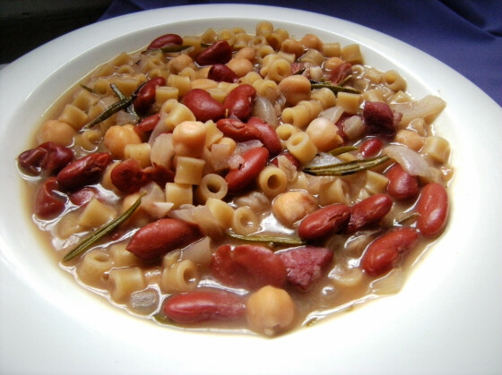 Pasta e Fagioli (Beans and Macaroni) | Write On New Jersey