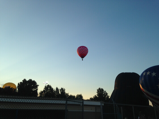 Balloon Approaching