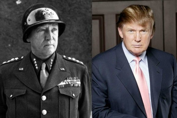 George Patton-Donald Trump