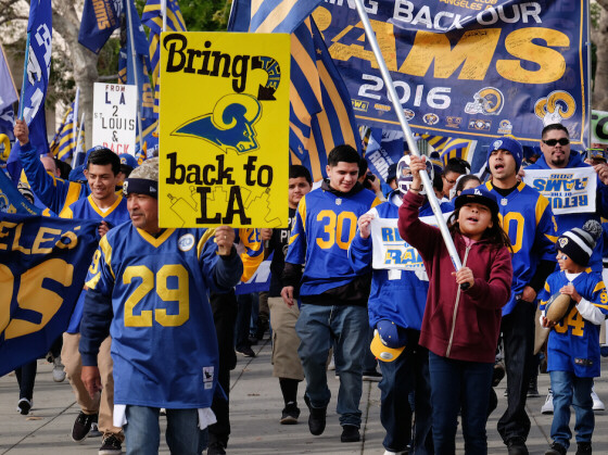 Rams Move Back to Los Angeles