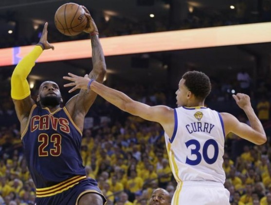 LeBron vs. Steph Curry